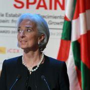 IWF fordertEU zu Wachstumsförderung auf - Krawalle bei Protest (Foto)