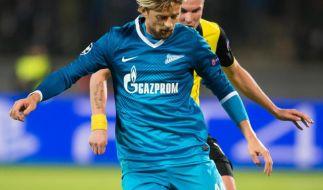 Ukrainische Fußballstars beschwören Einheit des Landes (Foto)