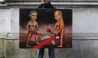 Die Ukraine provoziert Muskelspiele zwischen Rusland und den USA. (Foto)