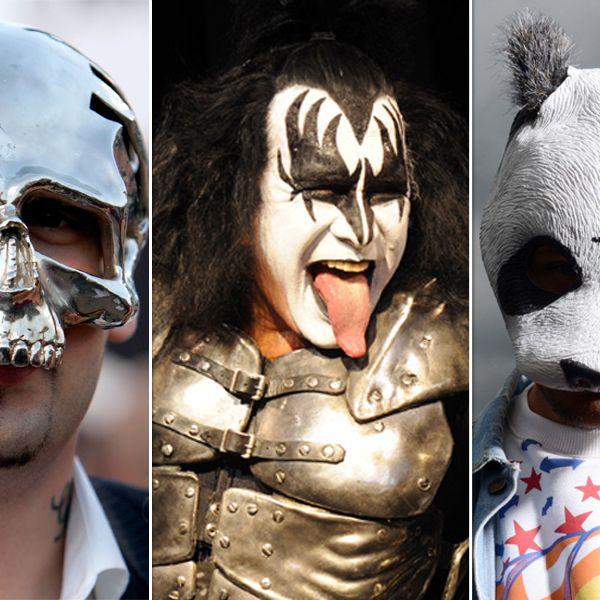 Musiker mit Maske: Ohne Verkleidung, ohne mich! (Foto)