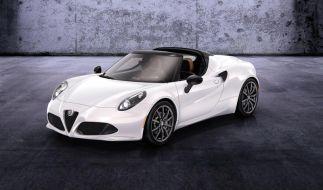 Alfa Romeo bringt den 4C als Cabrio (Foto)