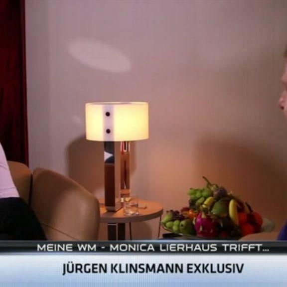 So lief ihr Interview-Comeback mit Klinsi (Foto)