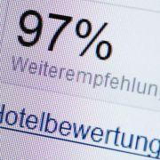 Top oder Flop - Falsche Hotelbewertungen erkennen (Foto)