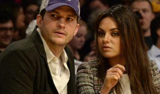 Kunis und Kutcher gemeinsam vor der Kamera (Foto)