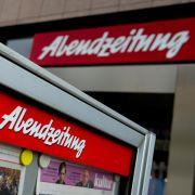 Insolvenzantrag: Münchner «Abendzeitung» kämpft ums Überleben (Foto)