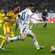 Messi nach Nullnummer: Nicht viele Rückschlüsse ziehen (Foto)