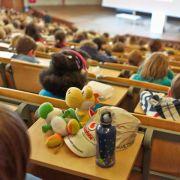 Kinder-Uni: Nachwuchsforscher auf Autogrammjagd (Foto)
