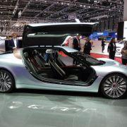 E-Flitzer Quant: Dieses Auto tankt Elektrolyte (Foto)