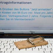 BGH bestätigt Urteil zu Abo-Fallen im Internet (Foto)