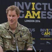 Prinz Harry gründet «Paralympics» für Soldaten (Foto)