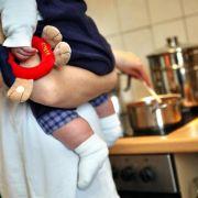 Millionen Eltern im Zeitstress (Foto)
