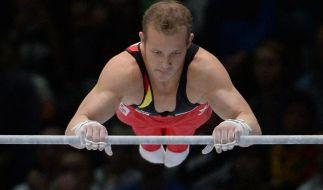 Turnstar Hambüchen hat schon die WMim Blick (Foto)