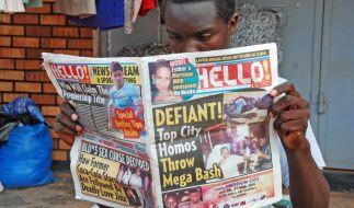In Uganda wurde vor kurzem ein Gesetz gegen Schwule und Lesben verabschiedet. (Foto)