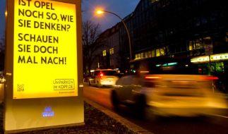 Hingucker. Die Opel--Kampagne. (Foto)