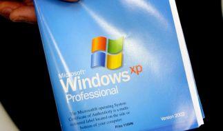 Microsoft mottet Windows XPein - Countdown läuft (Foto)