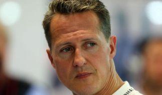 Michael Schumacher noch nicht aufgewacht (Foto)
