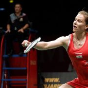 Badminton-Ass Schenk beendet internationale Karriere (Foto)
