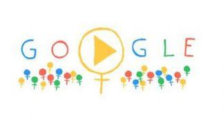 Google Doodle zum Internationalen Frauentag (Foto)
