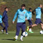 Messi hat keine Erklärung für wiederholten Brechreiz (Foto)