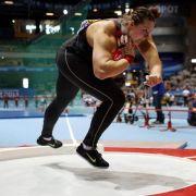 Kugelstoßerin Schwanitz kämpft um WM-Medaille (Foto)