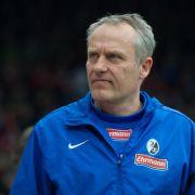 Freiburg-Trainer Streich vor BVB-Spiel: «Etwas möglich» (Foto)
