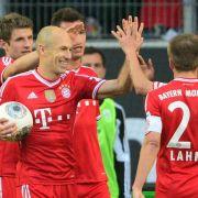 Wolfsburg reizt Bayern und wird mit 1:6 bestraft (Foto)