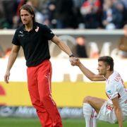 VfB-Coach Schneider gibt nicht auf - Zukunft offen (Foto)