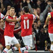FA-Cup: Özil trifft bei Arsenals 4:1 gegen Everton (Foto)