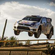 Doppelführung für Volkswagen bei Rallye Mexiko (Foto)