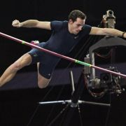 Weltrekordler Lavillenie: Immer «volles Risiko» (Foto)