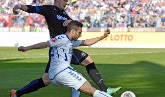 KSC steigert mit 4:0 über Paderborn Aufstiegschancen (Foto)