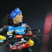 Deutsche Biathletinnen weiter neben der Spur (Foto)
