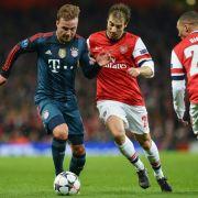 FCBayern vor Arsenal-Spiel:Alle einsatzbereit (Foto)