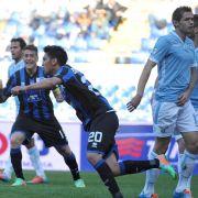 Rückschlag für Lazio und Klose - Konkurrent Inter siegt (Foto)