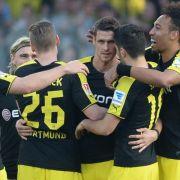 Dortmund festigt Platz zwei: Glanzloses 1:0 in Freiburg (Foto)