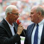 Beckenbauer hofft auf mildes Urteil für Hoeneß (Foto)