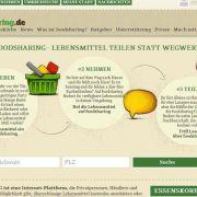 Foodsharing: Lebensmittel teilen statt wegwerfen (Foto)