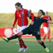 DFB-Frauen siegen erneut gegen Norwegen (Foto)