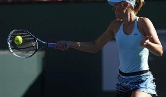 Scharapowa scheitert in Indian Wells an Qualifikantin (Foto)