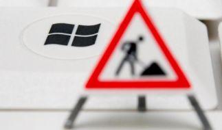 Microsoft mottet Windows XP ein - Countdown läuft (Foto)
