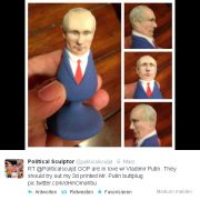 Putin ist für den Ar***! (Foto)
