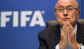 Blatter glaubt nicht an deutschen WM-Sieg (Foto)