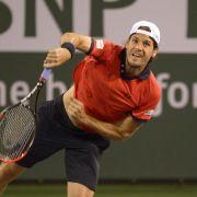Starker Haas in Indian Wells jetzt gegen Federer (Foto)