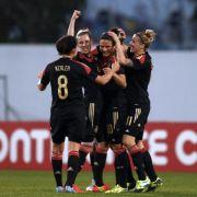 DFB-Frauen peilen im Algarve Cup dritten Titel an (Foto)