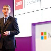 CeBIT-Halbzeit: Unternehmen ziehen positive Zwischenbilanz (Foto)