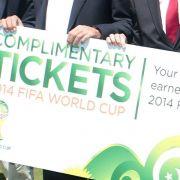 FIFA: 200 000 WM-Tickets in nur fünf Stunden vergeben (Foto)