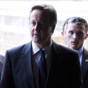 Schwere Raketenangriffe trüben Camerons Israel-Besuch (Foto)