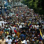 Erneut Tote bei Protesten in Venezuela (Foto)