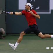 Haas scheitert in Indian Wells an Freund Federer (Foto)