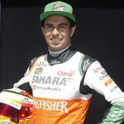 Die Piloten der Formel 1: Sergio Perez (Foto)